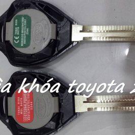Làm Chìa Khóa Xe Toyota Camry Chính Hãng – Remote Toyota