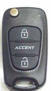 Làm Chìa Khóa Hyundai Accent Remote Accent Blue 3 button