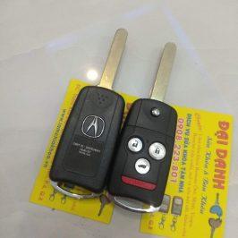 Làm Chìa Khóa Honda Acura Mdx Zdx Remote 3 Nút Remote 4 Nút