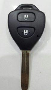 Chìa Khóa Toyota Vios 2006 -2014 Chìa Khóa Remote 2 Nút