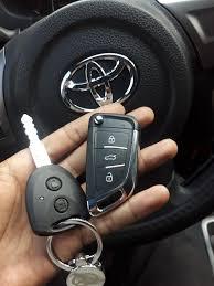 Làm Chìa Khóa Toyota Wigo ,Chìa Khóa Remote Gập