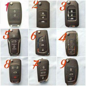 Chìa Khóa Remote Ford Fiesta