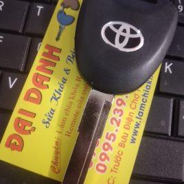 Chìa Khóa Toyota Wigo – Chìa Khóa Remote Wigo 2 Nút