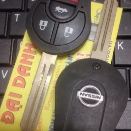 Chìa Khóa Remote Nissan Sunny – Chìa Khóa Điều Khiển 4 Nút
