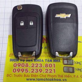 Chìa Khóa Thông Minh Chevrolet Orlando – Chìa Khóa Smartkey 2 Nút
