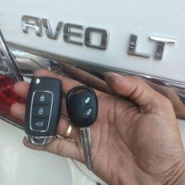 Chìa Khóa Remote Chevrolet Aveo – Chìa Khóa Remote 2 Nút